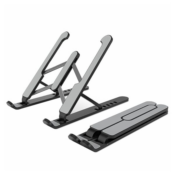 Aluminum Alloy Laptop Holder Stand Adjustable Folding Portable for Notebook Computer Lifting Cooling Holder Non-slip Stand